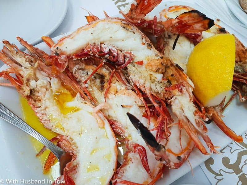 Where to eat seafood in Lisbon Portugal