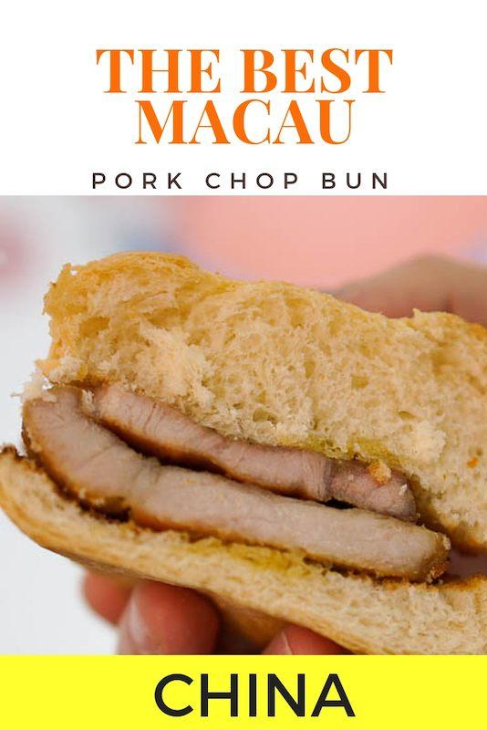 Best Pork Chop Bun in Macau