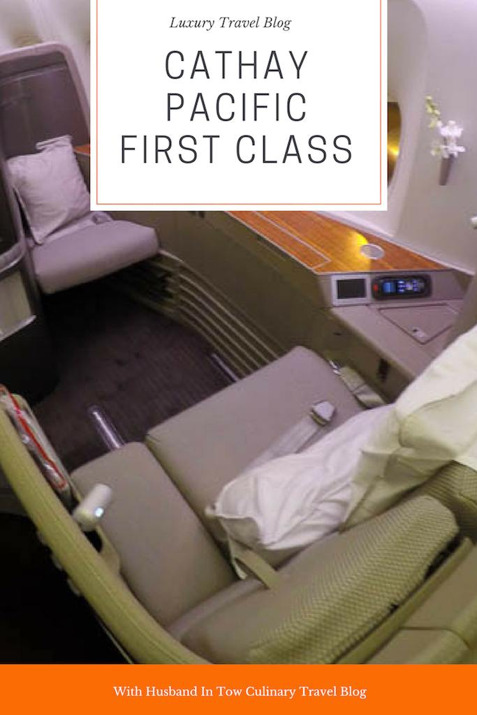Flying Cathay First - Cathay Pacific First Class Review 777-300ER