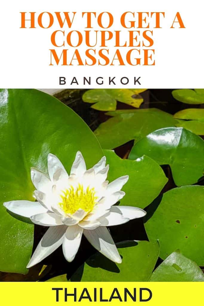Best Couple Massage Bangkok Can Offer - Bangkok Massage Guide