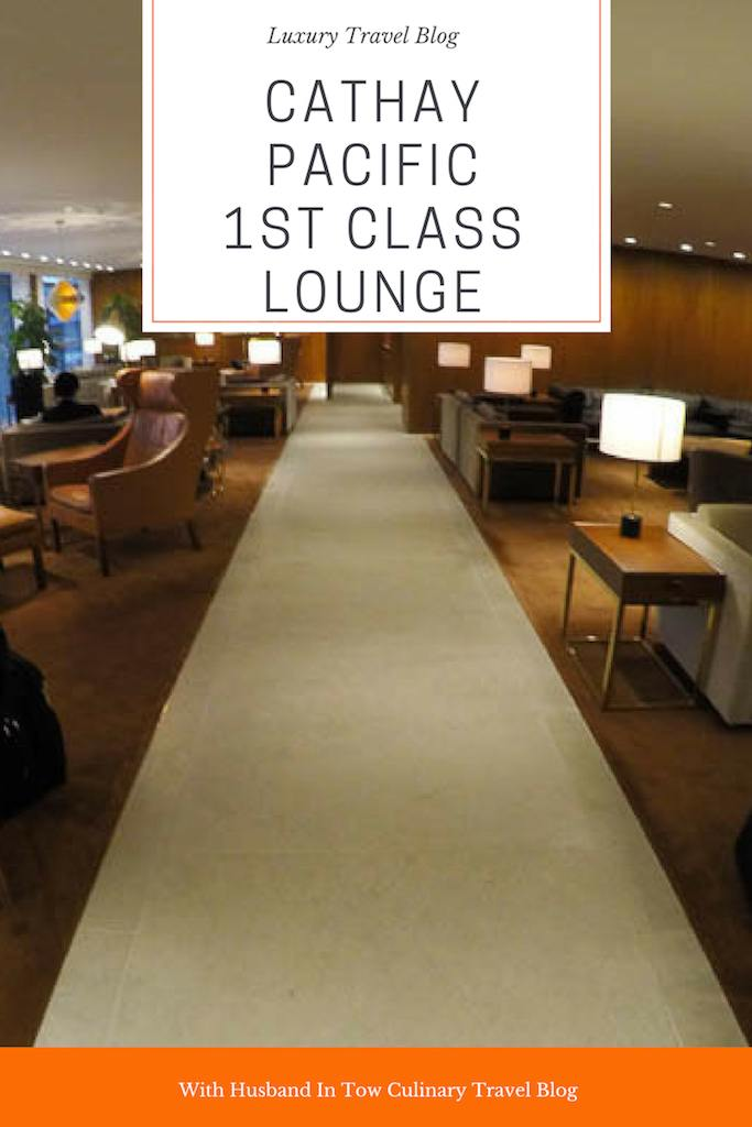 Cathay Pacific First Class Lounge Hong Kong - The Pier Review