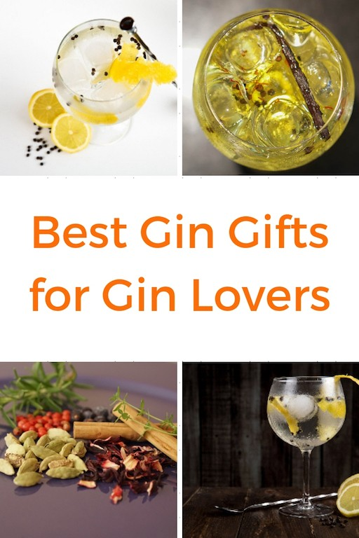 The Best Gin Gifts for Gin Lovers - Gin Gift guide