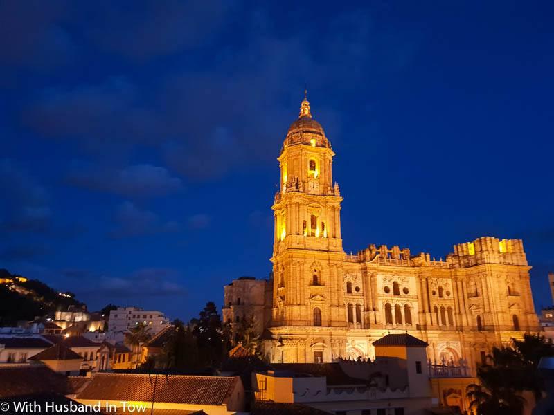 Malaga Cathedral View