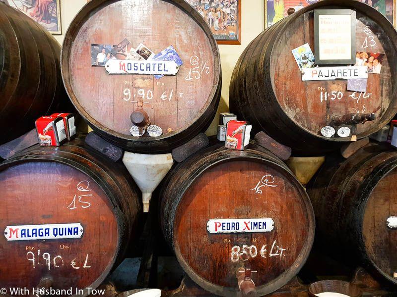 wine bar malaga