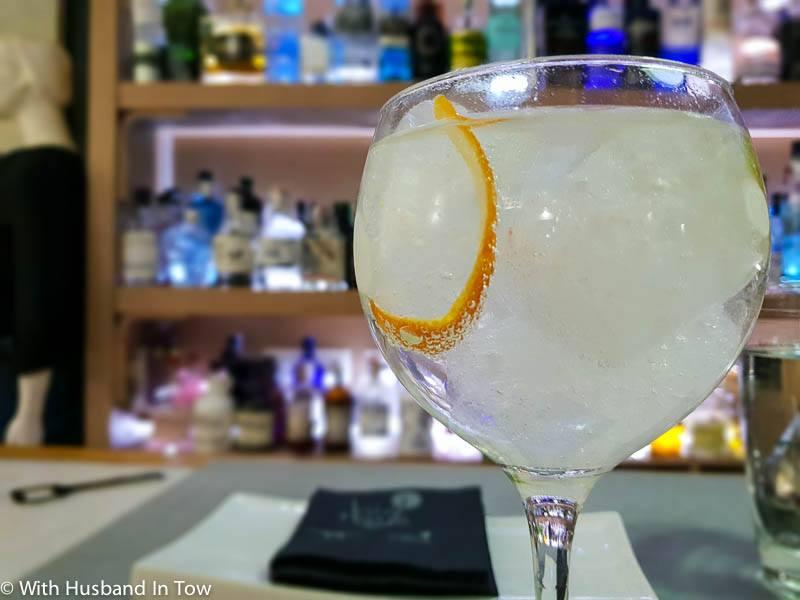Malaga gin bars