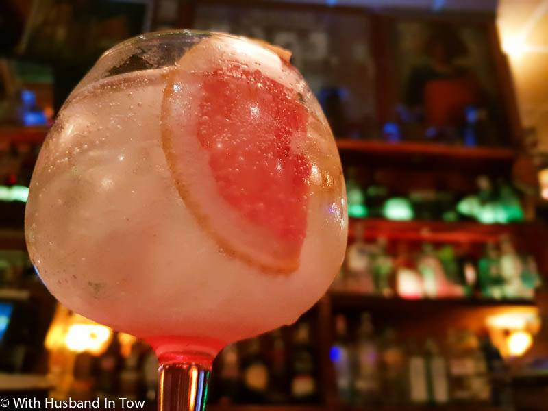 must see Sevilla gin and tonic