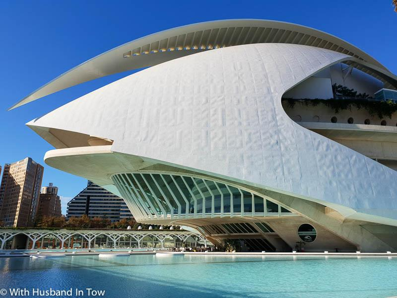 Valencia Opera House at City of Arts and Sciences