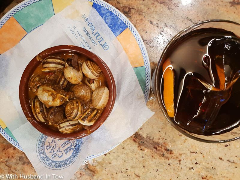 Bar Casa Julio restaurants in Granada Spain