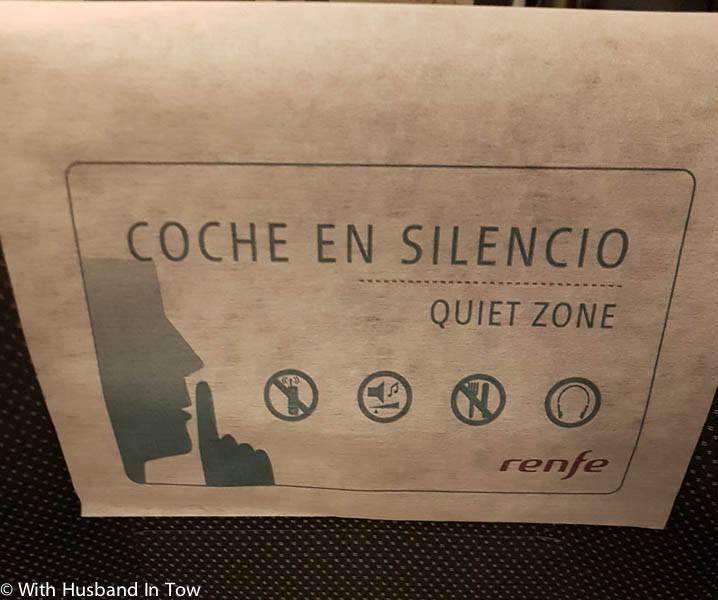 buy train tickets spain - silencio coach