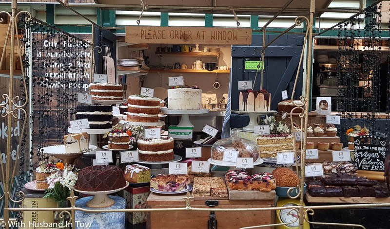 places to eat in Bristol city centre - St Nicholas Market