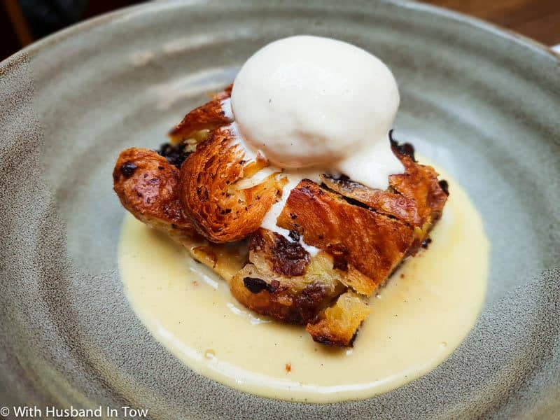 Bread and Butter Pudding in Bristol