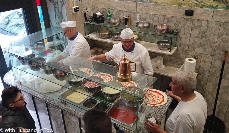 Where To Find the Best Pizza In Naples Italy - Trianon