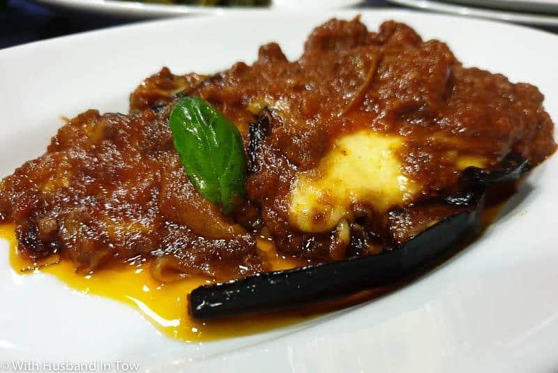 Parmigiana di Melenzane – Eggplant Parmigiano in Naples