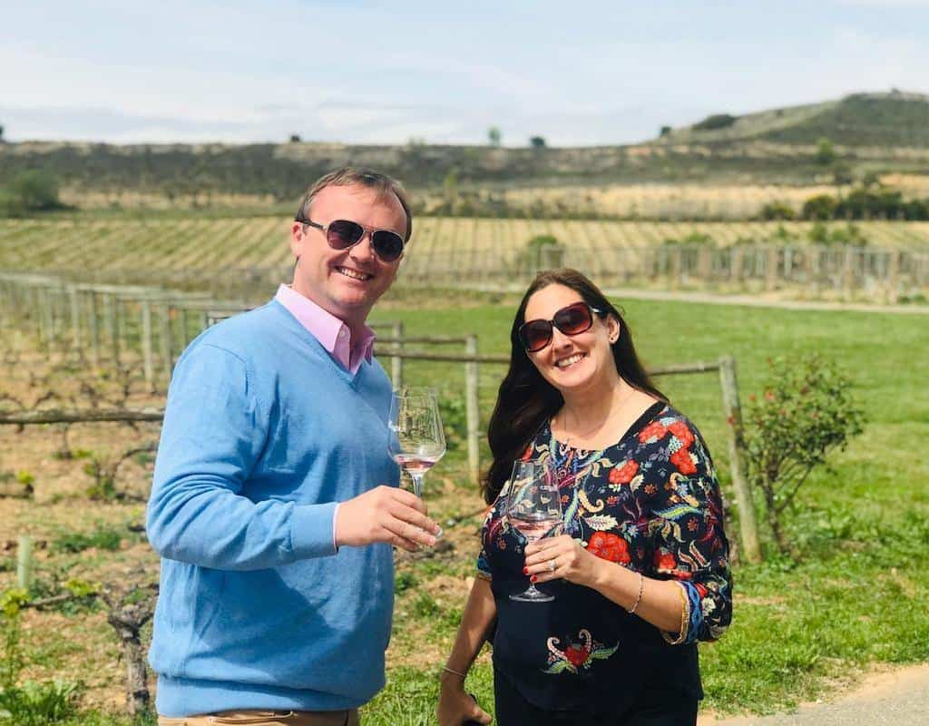 Drinking In the Rioja Wineries