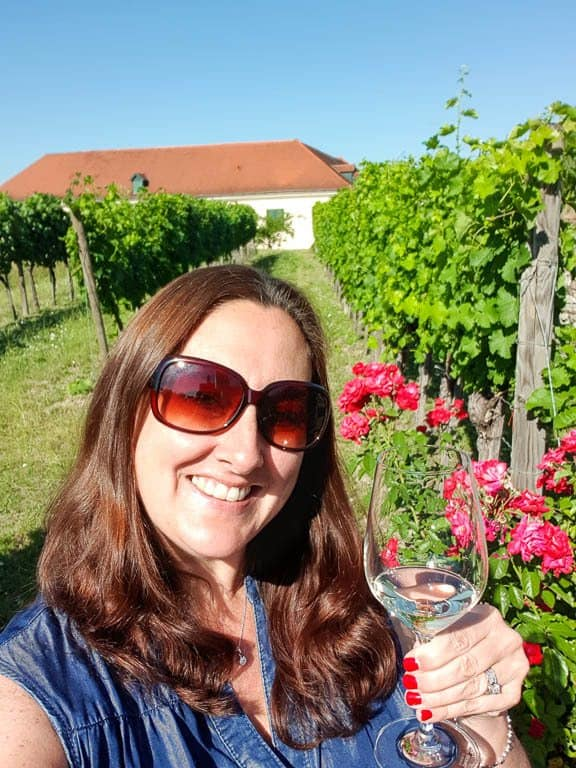 Drinking in Wachau Valley Austria