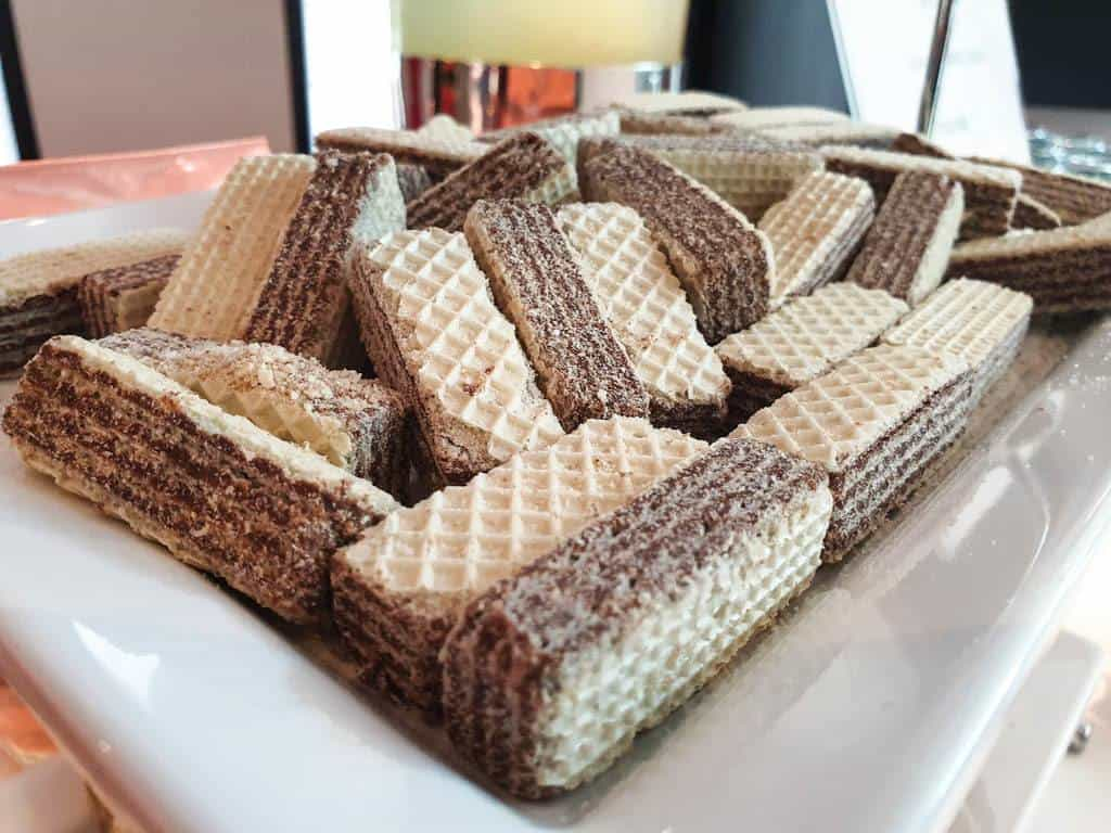 Austrian wafer dessert
