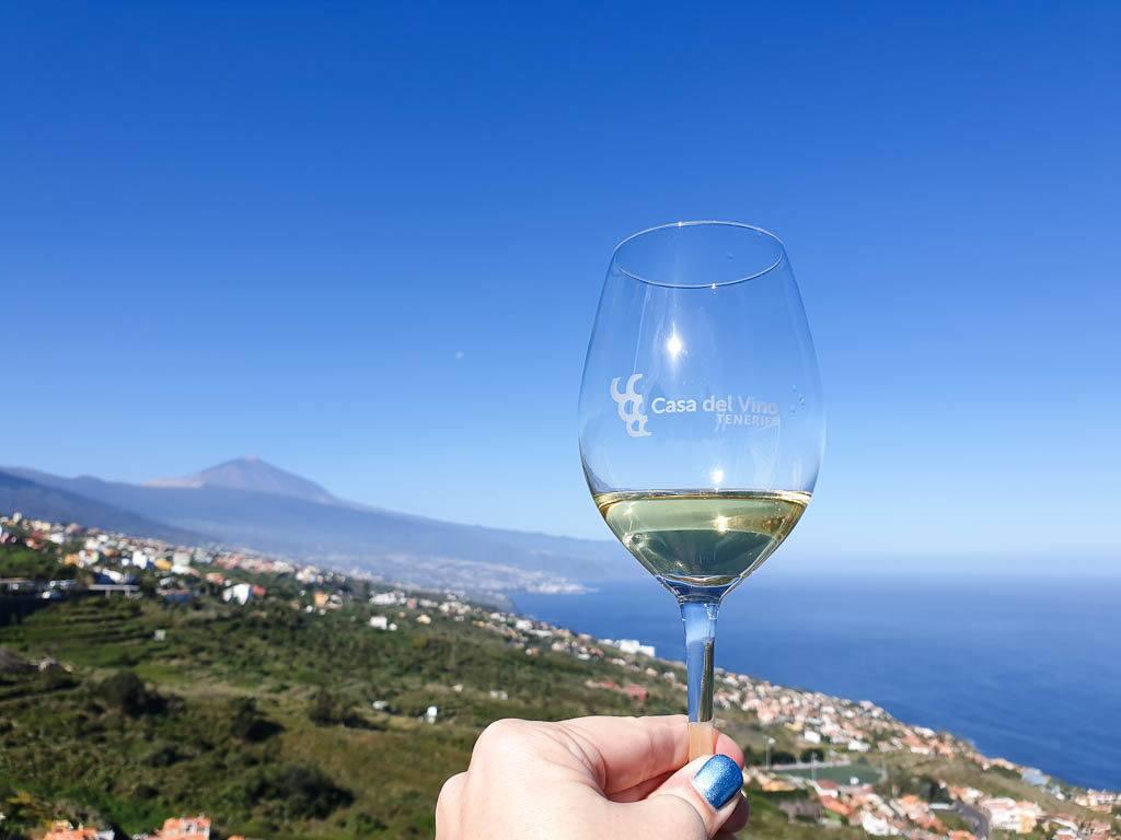 wine tasting in Tenerife Spain